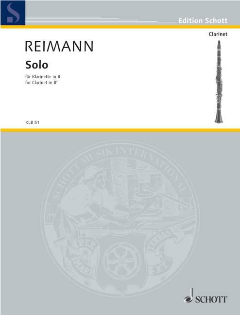 Solo-for-Clarinet-Reimann-Aribert-clarinet-in-Bb-9790001129770